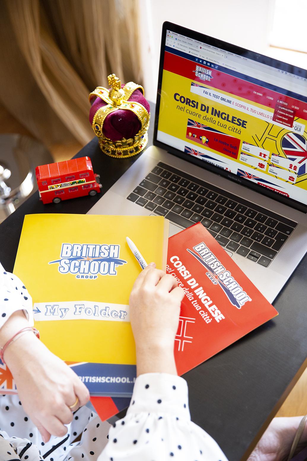 Foto di corsi online di British School Group
